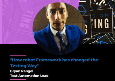 """Charla """"How robot Framework has changed the Testing Way"""" en Hands on Testing 2021"""