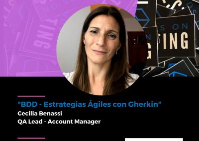 "Charla ""BDD - Estrategias Ágiles con Gherkin"" en Hands on Testing 2021"
