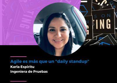 """Charla Agile es más que un """"daily standup"""" en Hands on Testing 2021"""