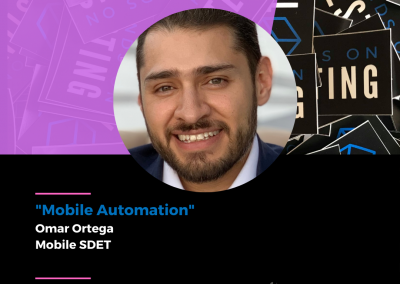 """Charla """"Mobile Automation"""" en Hands on Testing 2021"""