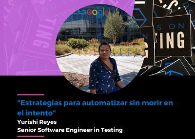 """Charla """"Estrategias para automatizar sin morir en el intento"""" en Hands on Testing 2021"""